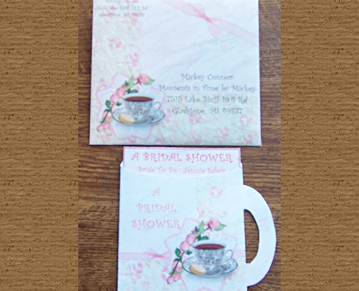 Bridal Shower Invitation - Click Here For a Larger View