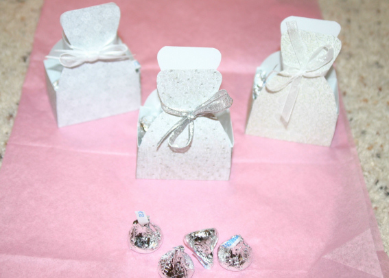 Dress Favor Boxes - Click Here For a Larger View